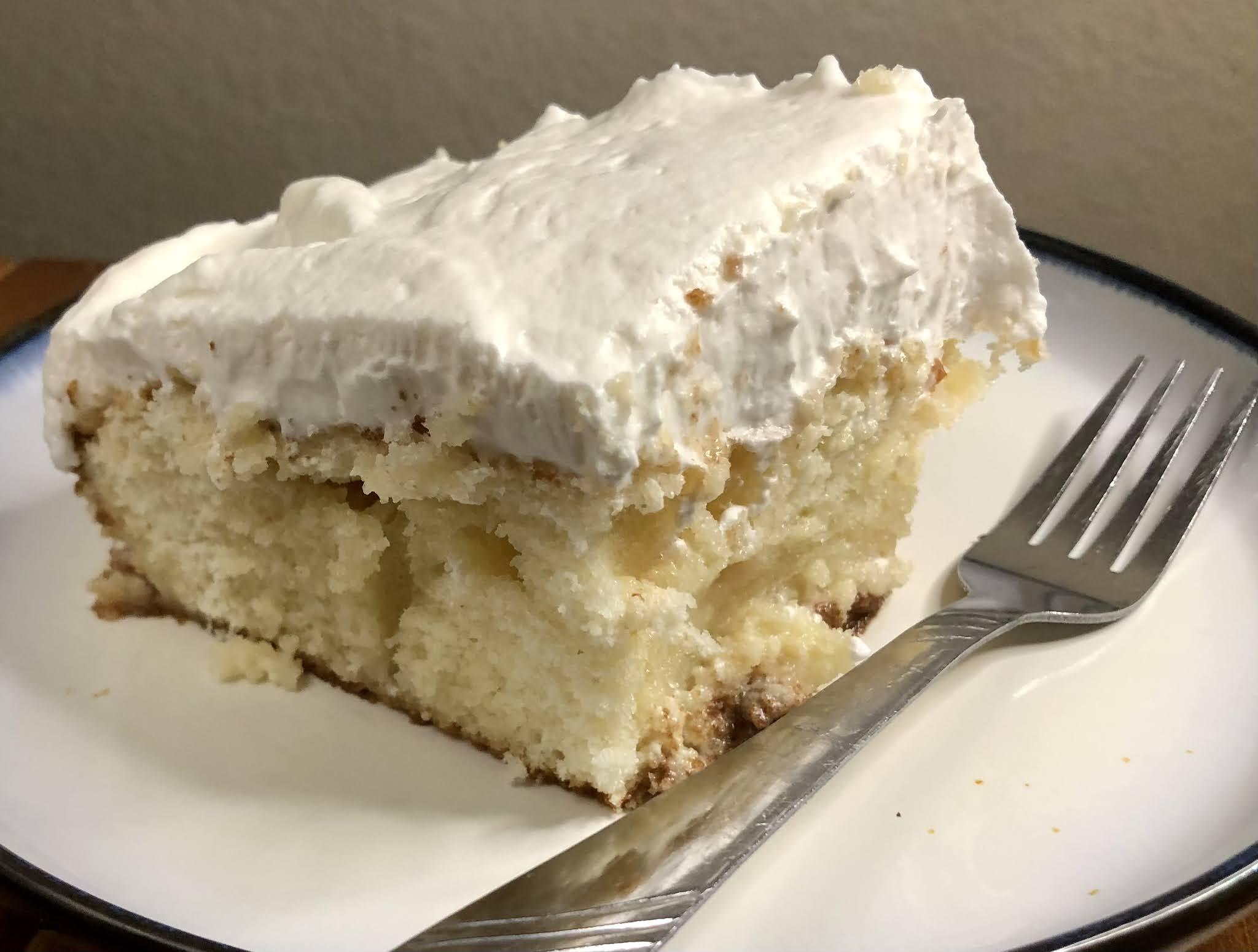 Shortcut Tres Leches Cake (Dos Leches)