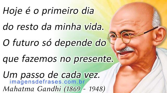 O futuro só depende do que fazemos no presente