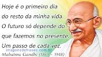 Frases de Pensamentos de Gandhi