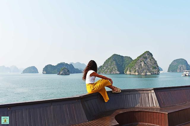 Crucero por la Bahía de Halong, Vietnam