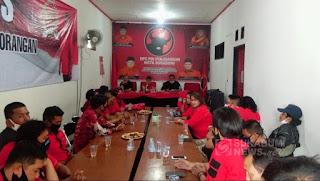 Anggota Komisi IX DPR RI Ribka Tjiptaning Kunungi DPC PDIP Kota Sukabumi