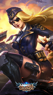 Lesley Black Rose Admiral Heroes Marksman Assassin of Skins V1