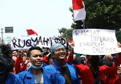Rakyat Diperas, Koruptor Dilepas