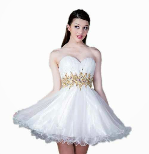 c898dcf38a2 Cute short white and gold formal prom homecoming dresses under 120 dollars