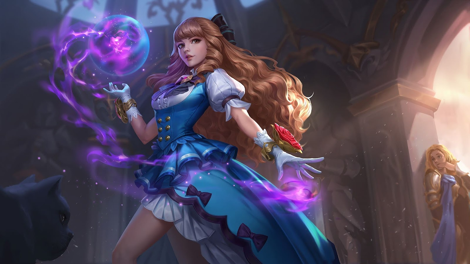Wallpaper Guinevere Fleur de Bleau Skin Mobile Legends Skin Mobile Legends HD for PC