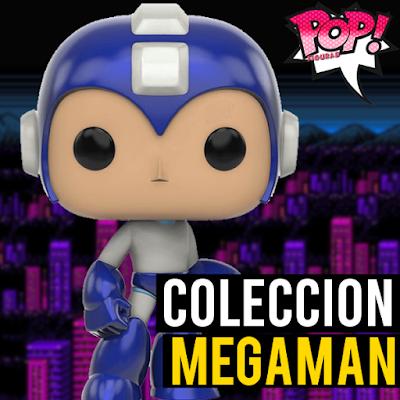 Lista de figuras funko pop de Funko POP Megaman