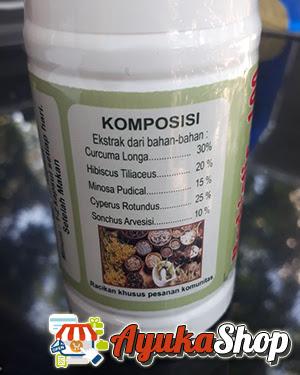 kandungan herbal obat herbiotic 100