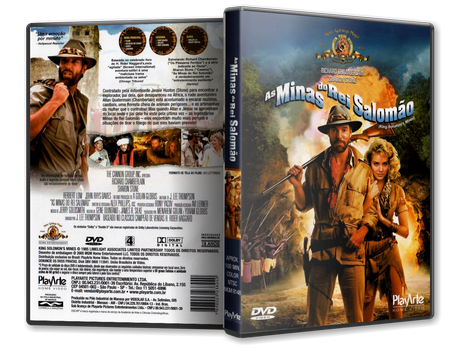 Capa DVD As Minas do Rei Salomão