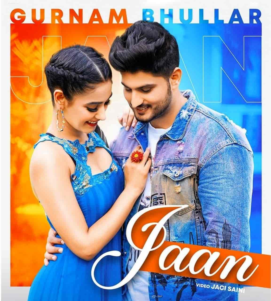 Jaan Punjabi Song Image Features Gurnam Bhullar And Charvi Dutta