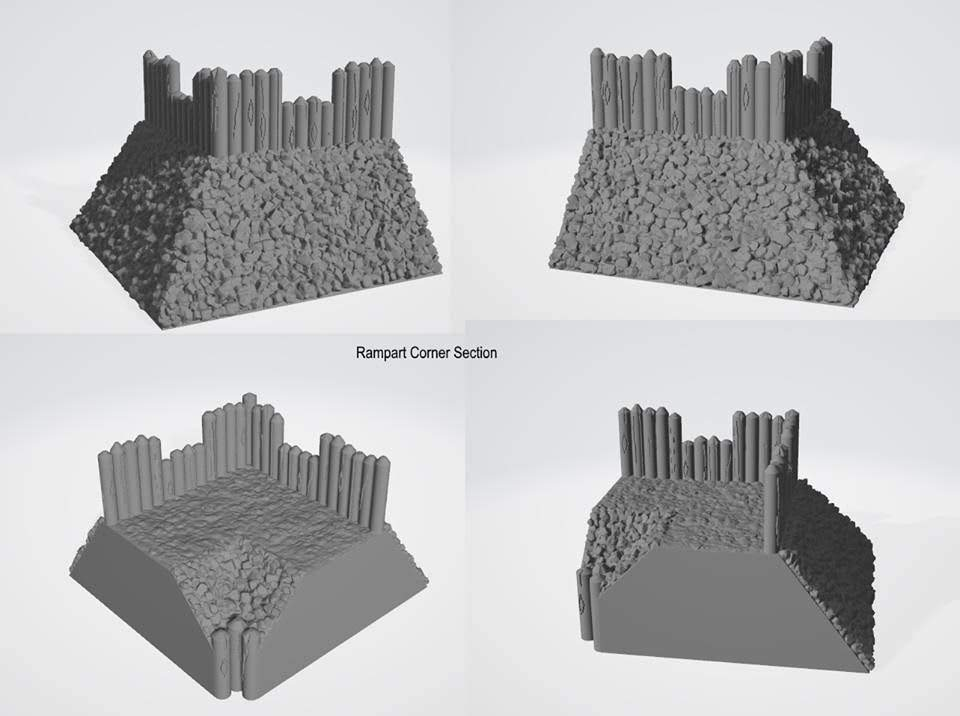 10mm Wargaming: Preparing for Kickstarter from Printable Terrain