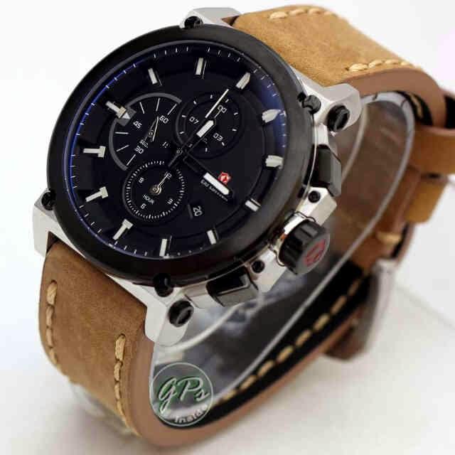 Berikut detail spesifikasi jam tangan expedition E6612 silver black dial 38b4d67488