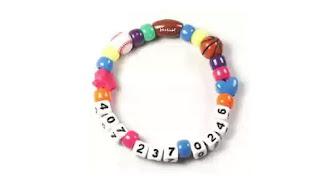 pulseras, brazaletes, identificadoras, personas, bisutería