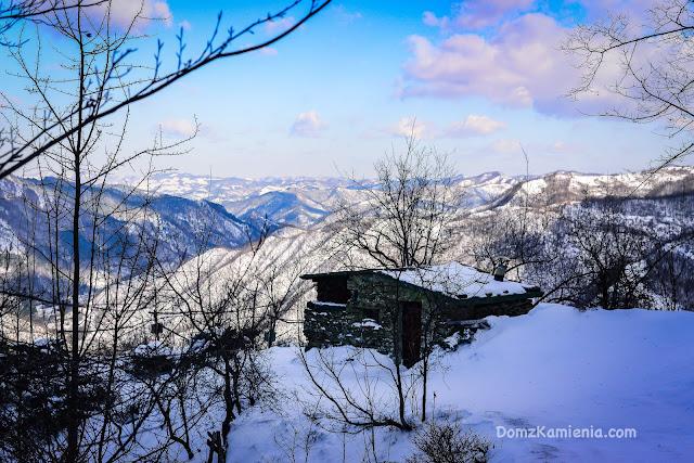 Dom z Kamienia, trekking w Toskanii - Capanno del Prete