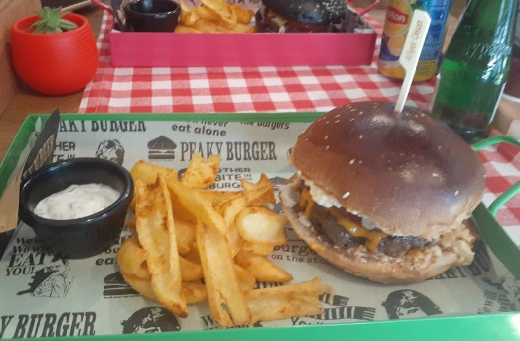 peaky burger çankaya ankara menü fiyat listesi hamburger sipariş