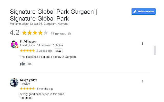 Signature Global Park 4&5 Review
