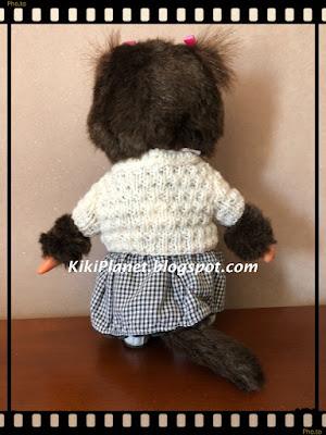 kiki monchhichi tricot pull vêtement knitting handmade fait main