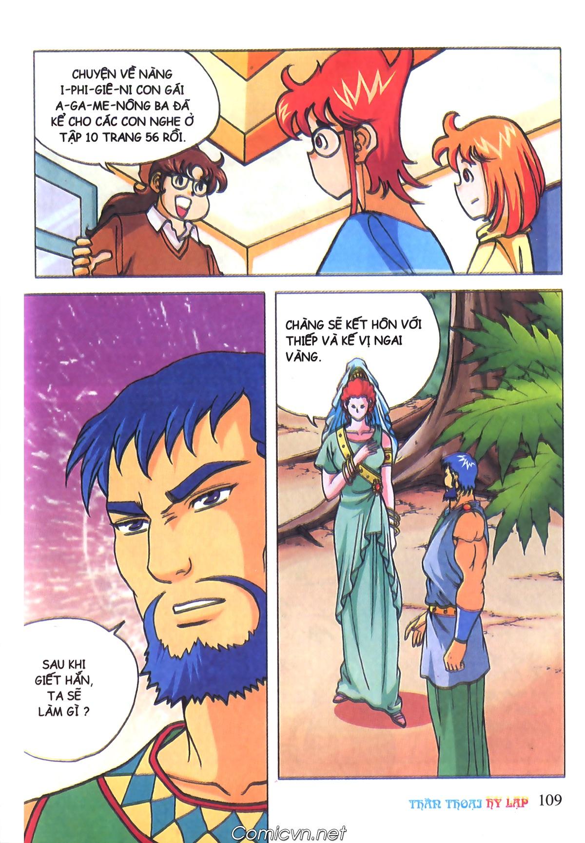 Thần Thoại Hy Lạp Màu - Chapter 70: Nàng Ê lếch tơ - Pic 4