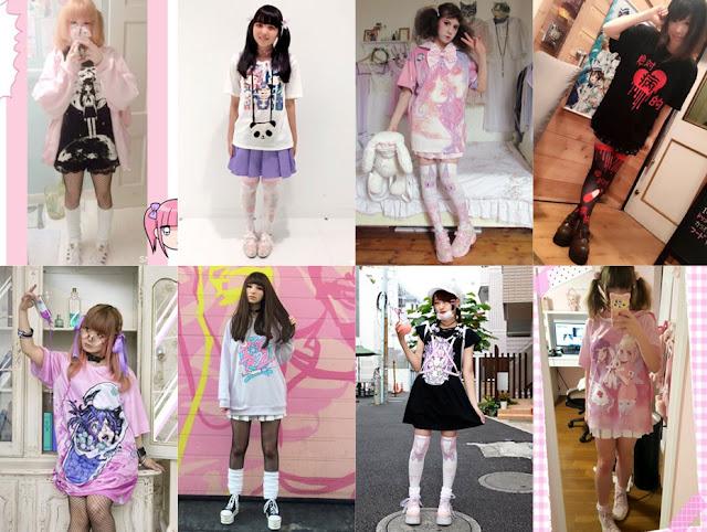 Estilo Menhera - moda japonesa