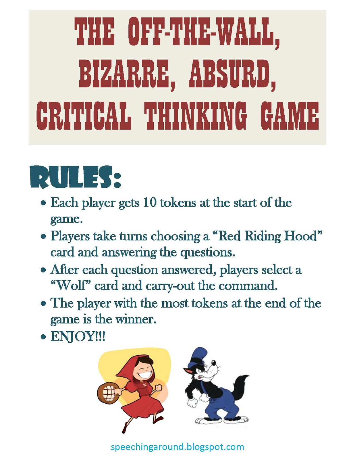Showing Media & Posts for Funny critical thinking questions