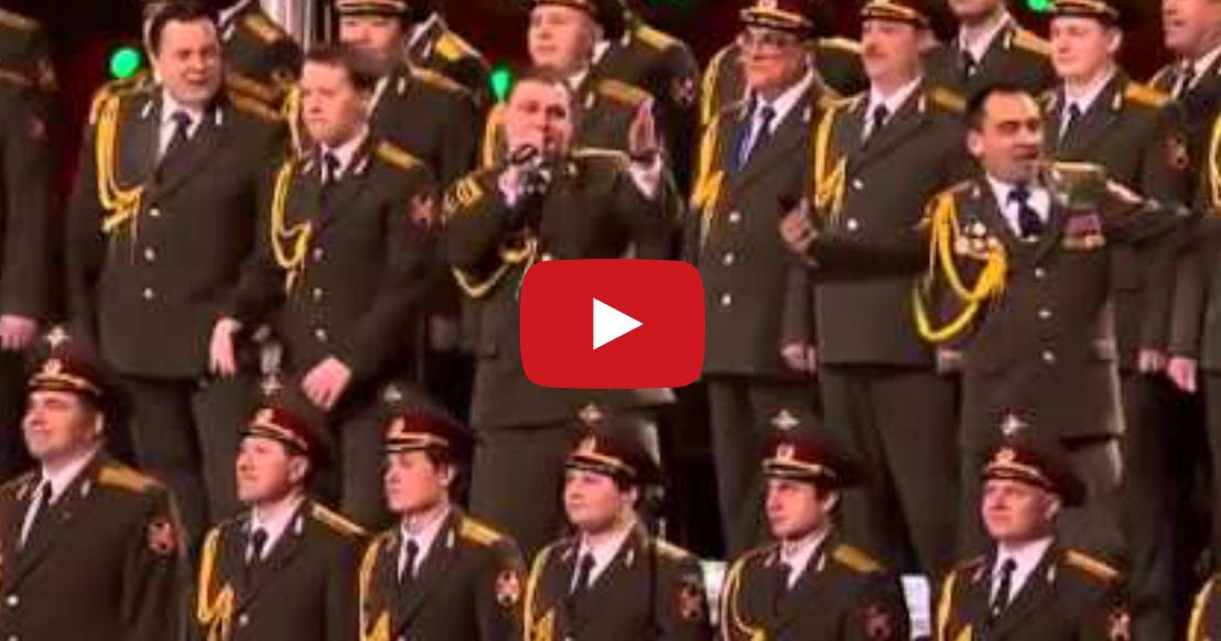 Russian Army Choir Sings Get Lucky