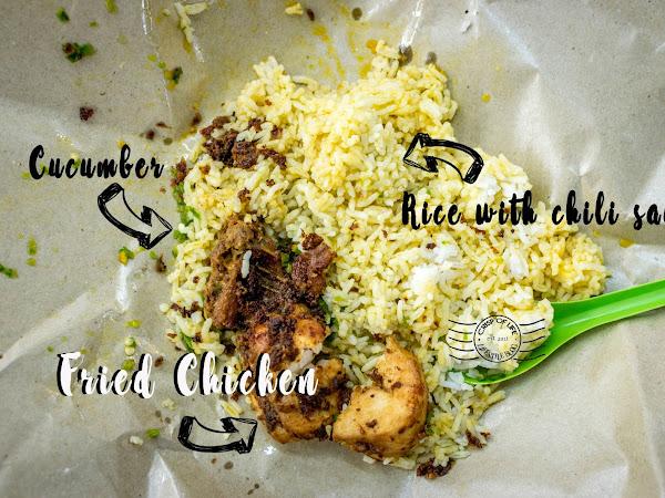 Zul's Nasi Kukus Ayam Berempah and Claypot Rice @ Happy Cafe, Taman Pekaka, Penang