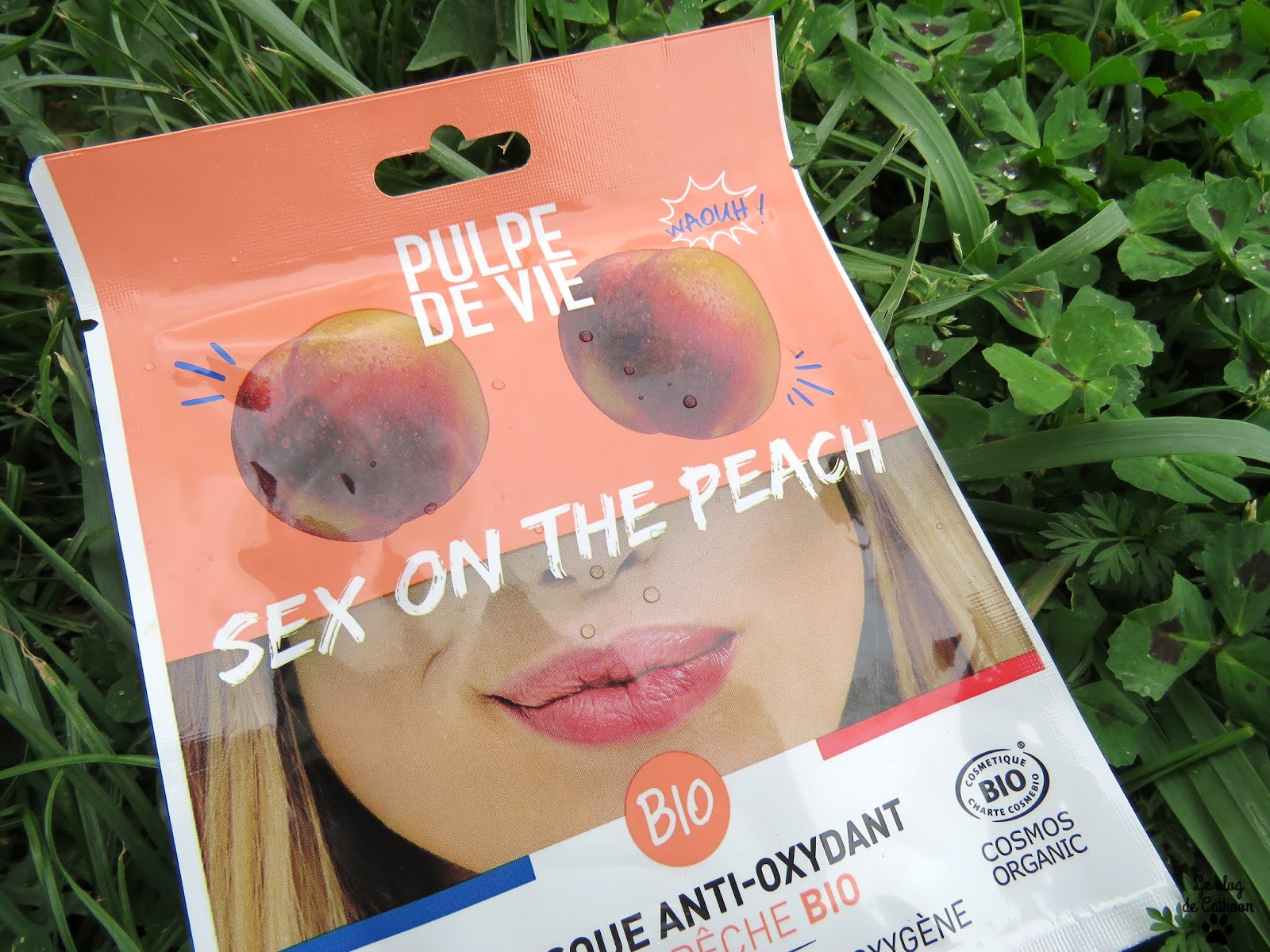 Sex on the Peach - Masque Anti-Oxydant à la Pêche Bio - Pulpe de Vie
