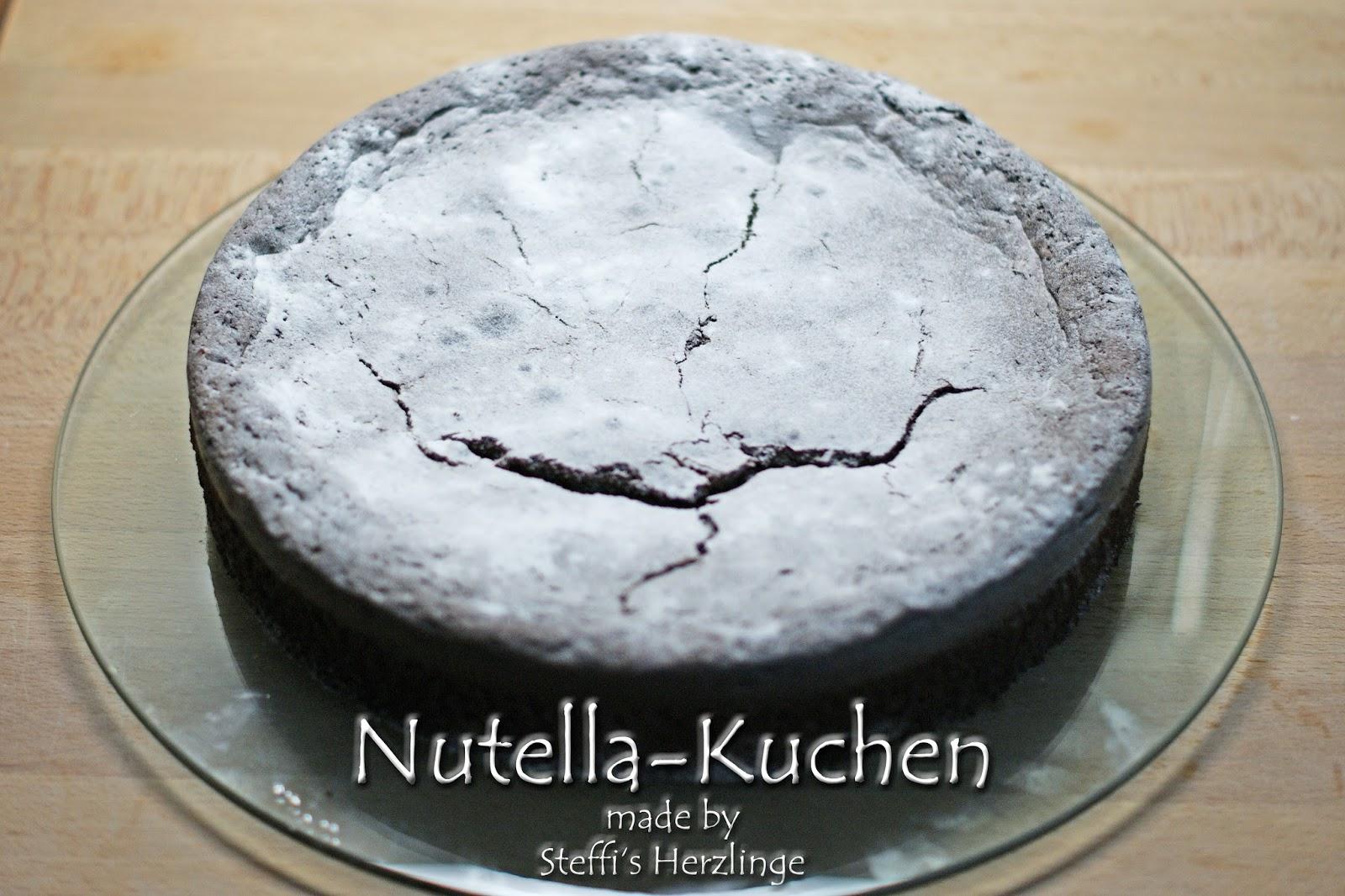 Nutella Kuchen Mit Nur 2 Zutaten