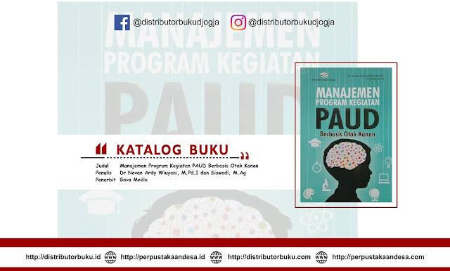 Manajemen Program Kegiatan PAUD Berbasis Otak Kanan