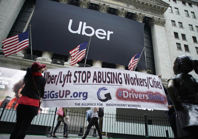 When Will Uber N Lyft STOP Enslaving Drivers To Pick Their Financial Cotton?