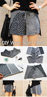 DIY Wrap Scarf Short Tutorial