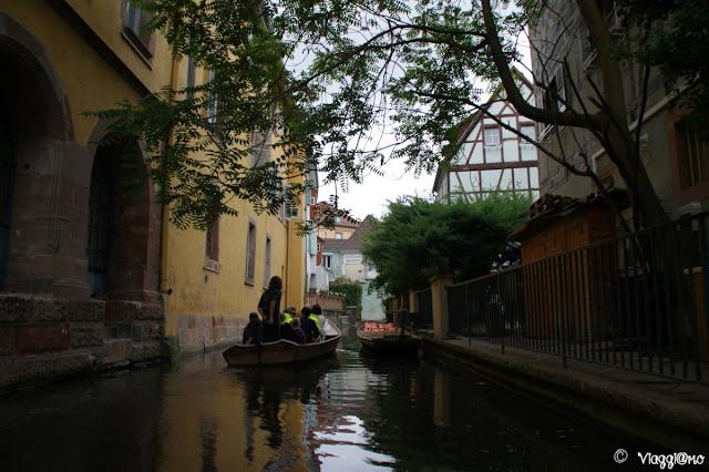 Tra i canali del fiume Lauch a Colmar