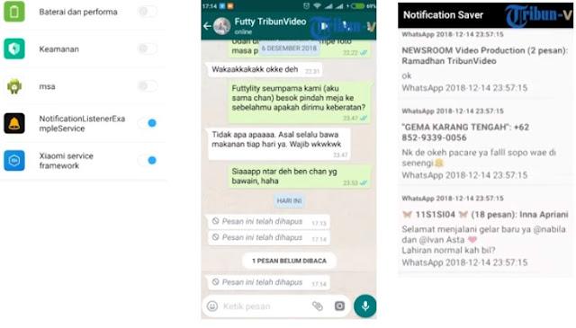 Membaca Pesan Whatsapp Yang Sudah dihapus
