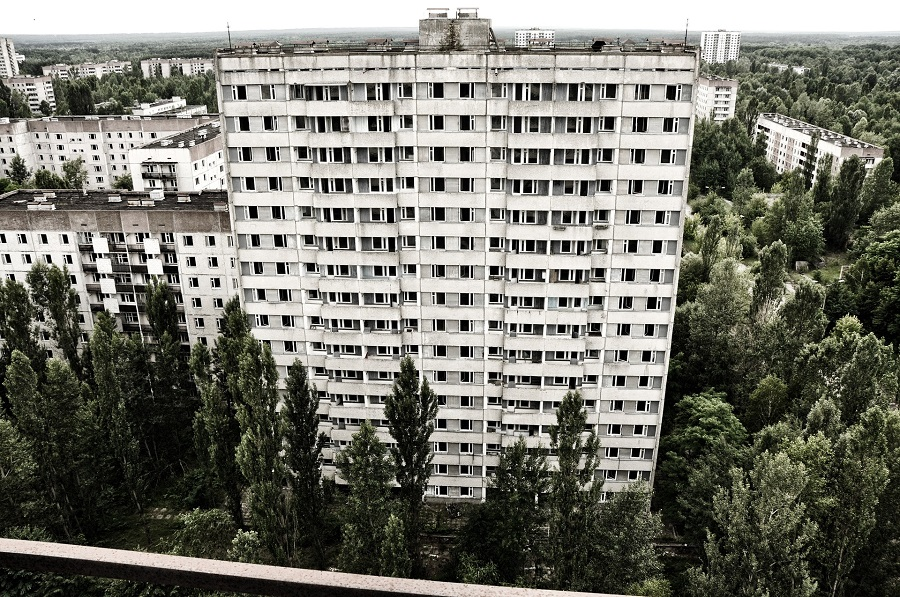 Pripyat, Ukraine - A City of 50 Thousand People Now Turned