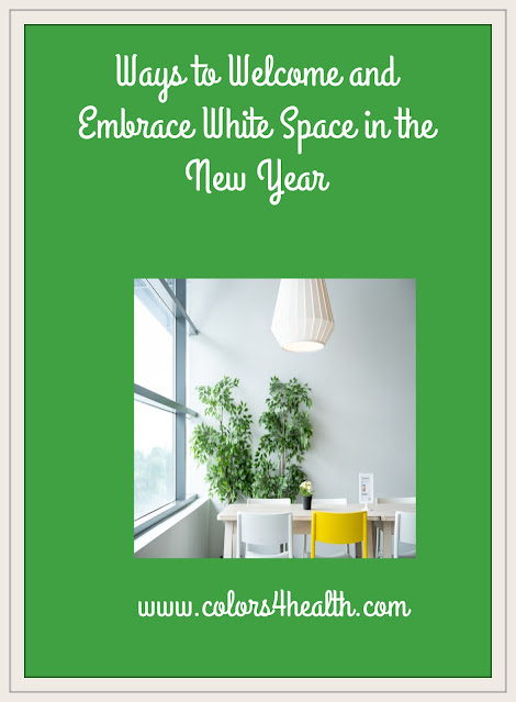 How to Embrace White Space in the New Year