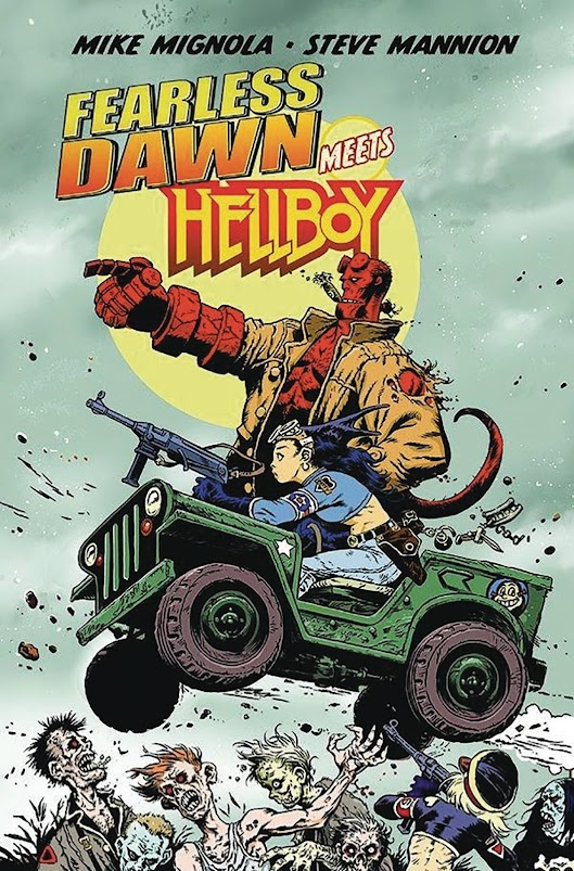 Cover of Fearless Dawn Meets Hellboy