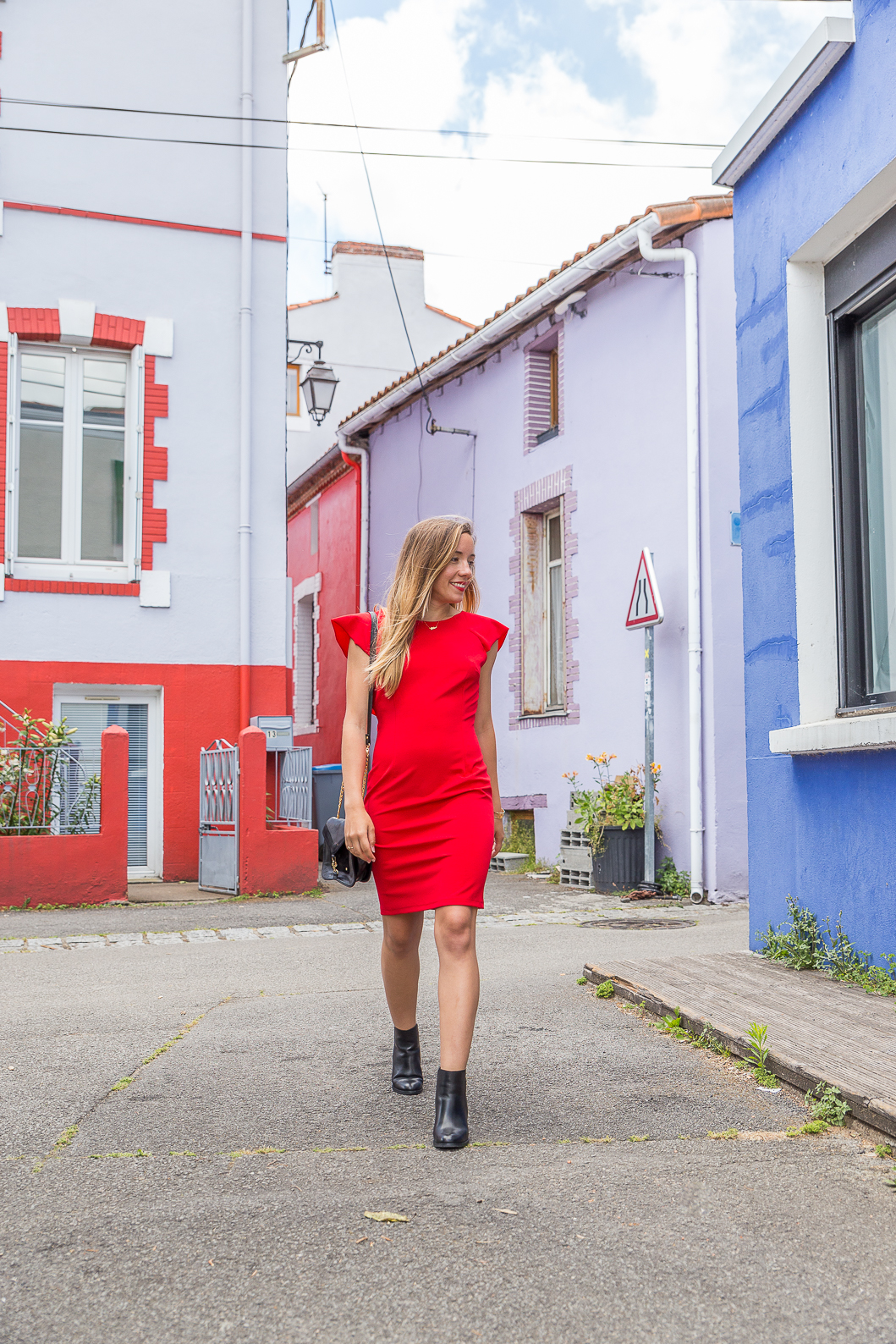 Blog mode tenue robe rouge