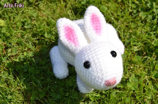 conejo amigurumi ganchillo rabbit crochet doll muñeco plushie peluche kawaii