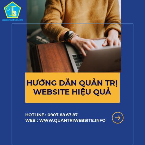 Hướng dẫn quy trình quản trị website hiệu quả