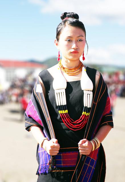 Lotha Women Traditional Dress Tokhu Emong