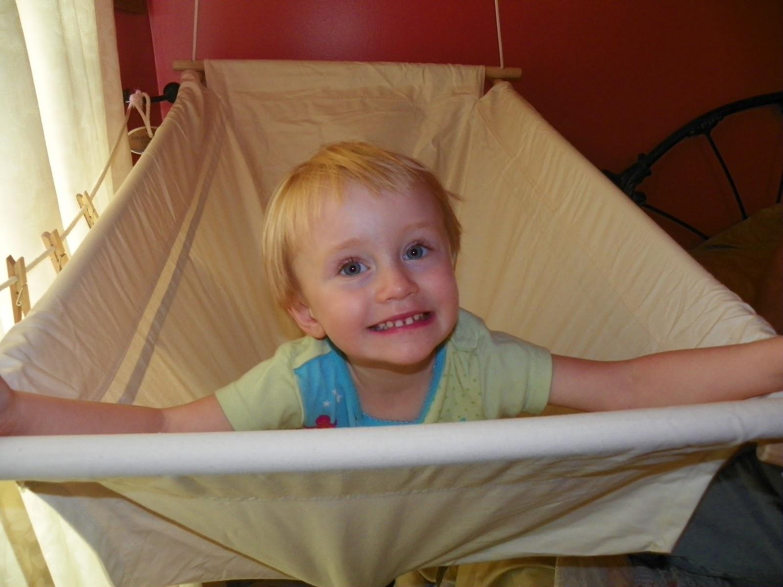 Big Baby Hammock With Safety Wooden Frame Sleep Amp Activity