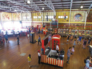 Coin-ops in the Fun House at Luna Park