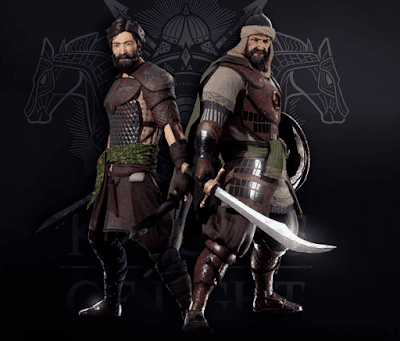 شخصيات اللعبة  فرسان المعبد Knights of light عاصم وقعقعة