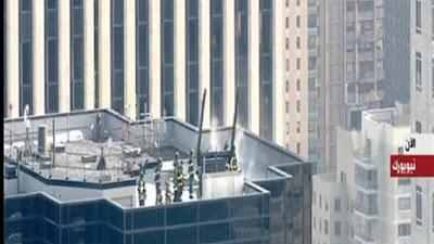 اندلاع حريق في برج ترامب بنيويورك