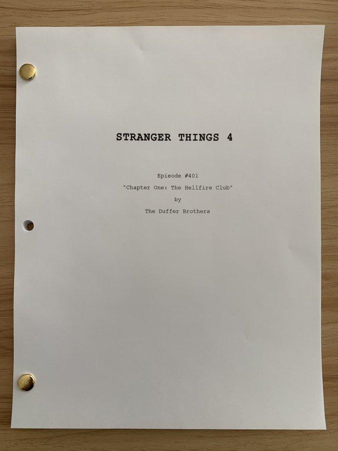 Stranger Things Season 4 Premiere Title Revealed