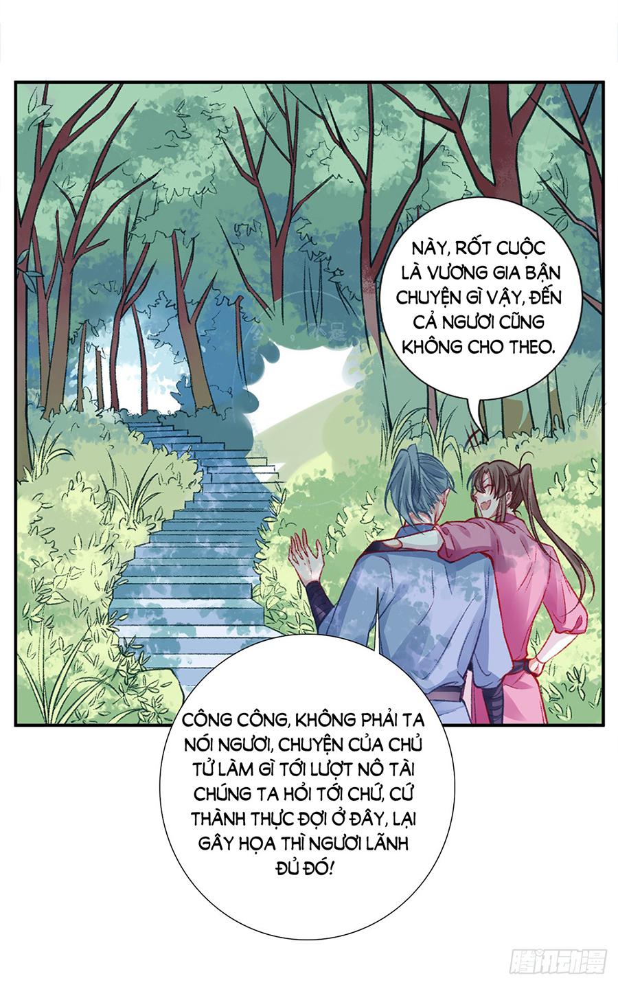 Hoàng phi 9000 tuổi chap 18 - Trang 32