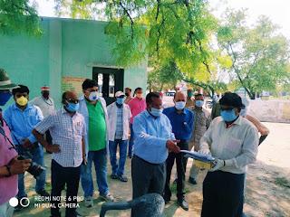 डीएम जौनपुर ने करदहां गांव का किया निरीक्षण | #NayaSabera