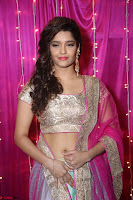 Ritika Sing in Golden Pink Choli Ghagra Cute Actress Ritika Sing ~  007.JPG