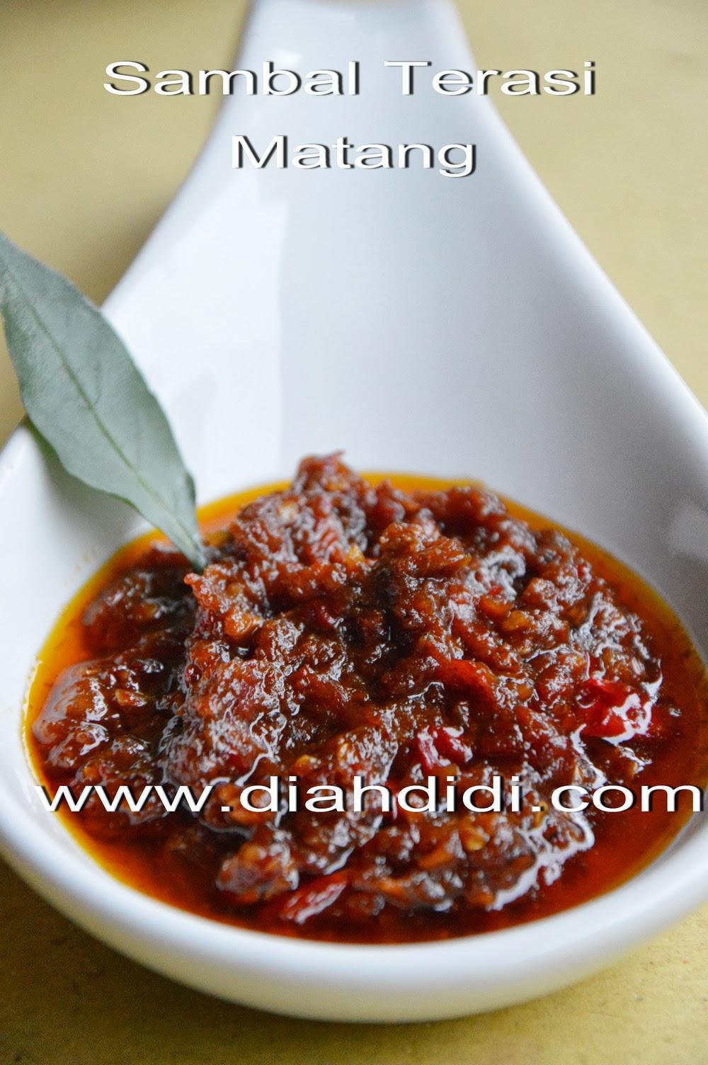 Resep Sambal Lalapan : resep, sambal, lalapan, Didi's, Kitchen:, Sambal, Terasi, Matang