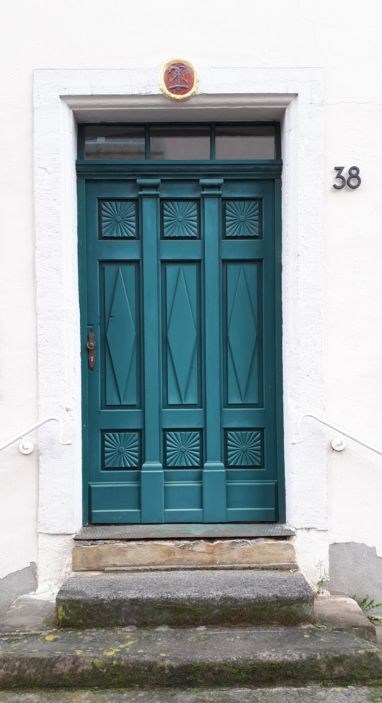 The doors of Trier, Germany | Happy in Red