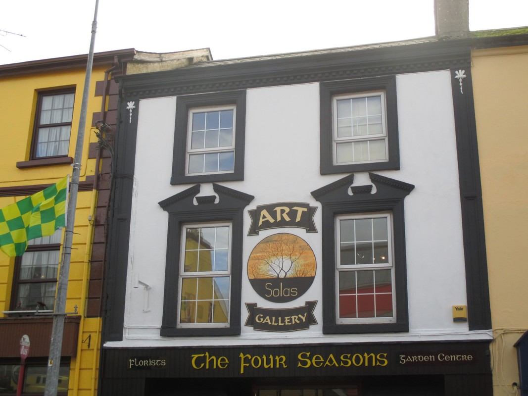 Solas Art Gallery in Ballinamore, County Leitrim